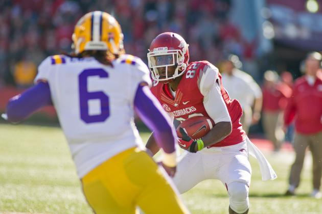 Arkansas-LSU Moved to Friday