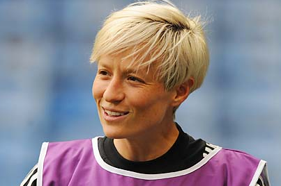 Megan Rapinoe, Lyon Face Wolfsburg in Champions League Final