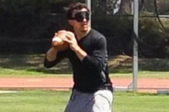 Johnny Manziel's so Good, He Completes 93 Percent of His Passes Blindfolded