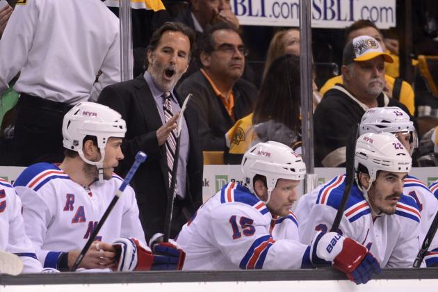 Tortorella Says There's 'No Give' in Rangers as Series Shifts to N.Y.
