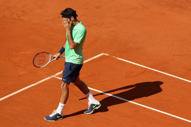 Roger Federer Poised for Another Tough, Late-Stage Exit at French Open