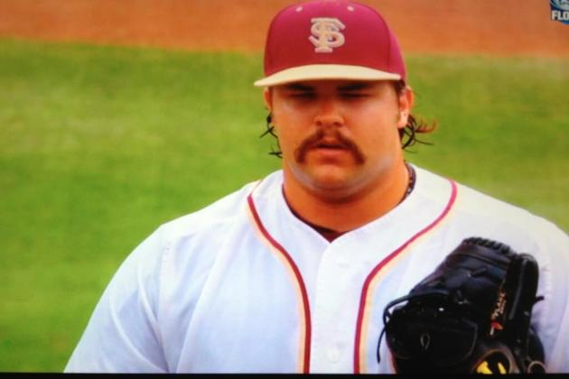 Florida State Pitcher Scott Sitz's Doppelgänger Is Kenny Powers