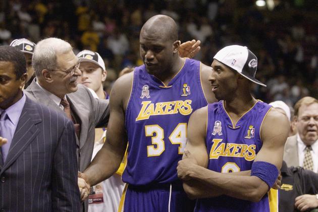 Phil Jackson Calls Kobe-Shaq Relationship 'Greatest Challenge'