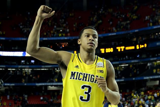 Projected Top-5 NBA Pick Trey Burke Is Taking Care of off-the-Court Business