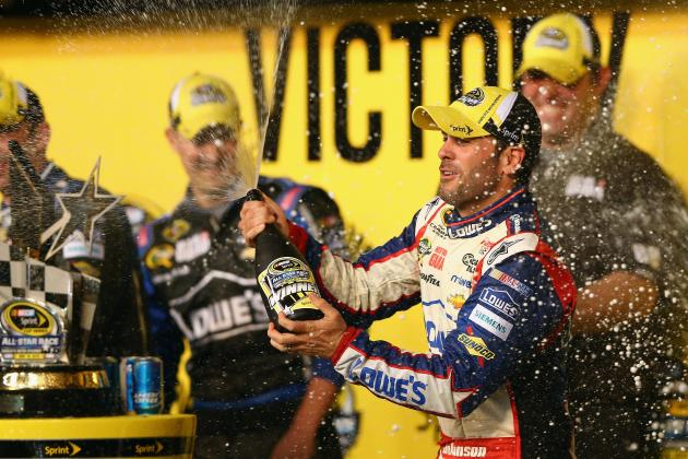 How Big Is the Gap Between Jimmie Johnson and NASCAR's 2nd-Best Driver?