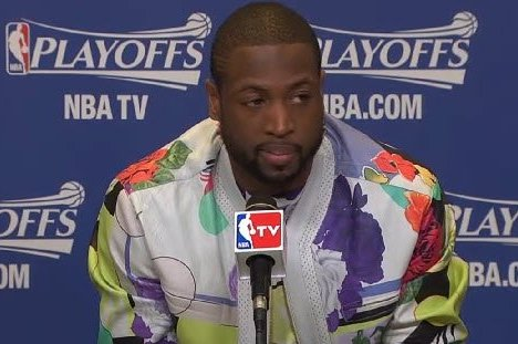 Miami Heat Star Dwyane Wade's NBA Fashion Decisions Are Shockingly Premeditated
