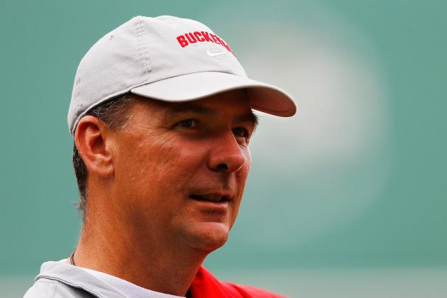 Ohio State Football: National Title Hopes Rest on Urban Meyer's Shoulders