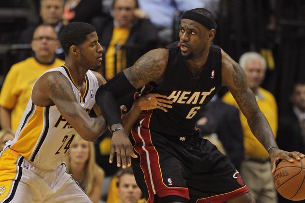 NBA Gamecast: Pacers vs. Heat