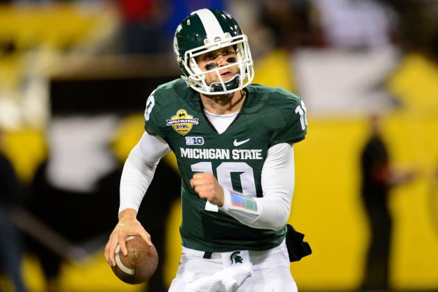QB Battle 'Pretty Even' Between Andrew Maxwell, Connor Cook