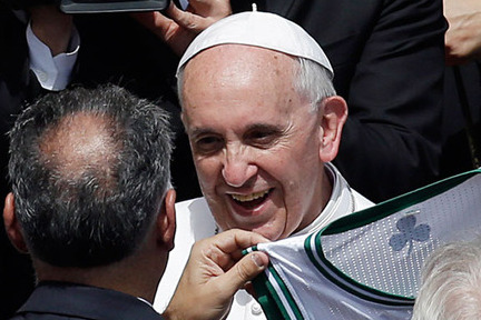 A Blessing for the Celtics? Minority Owner Gives Jersey to Pope
