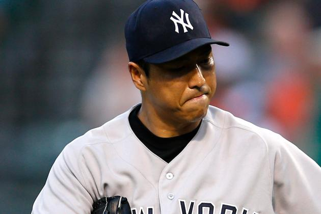 Hiroki Kuroda Leaves vs. O's Due to Apparent Injury