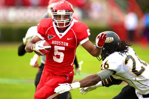 Houston RB Charles Sims Announces He's Leaving Team Before Senior Season