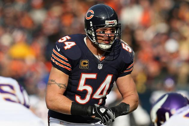 Where Does Brian Urlacher Rank Among Greatest Players in Bears History?