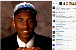 Kobe Bryant Trolls Charlotte Hornets Fans on Twitter and Instagram