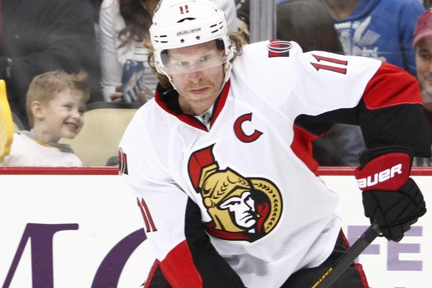 Alfredsson Skeptical OTT Can Come Back vs. PIT