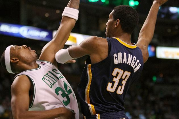 Boston's Paul Pierce for Indiana's Danny Granger Makes Sense for Both Teams