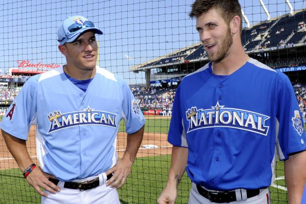 Mike Trout and Bryce Harper Are Baseball's Newest Generation of Young Superstars
