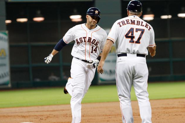 Martinez Helps Astros Win Series over Royals