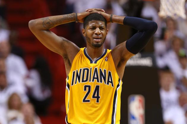 VIDEO: Paul George Sends Game 1 to Overtime with a Circus 3