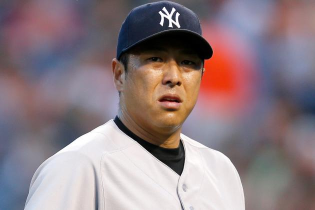 Yankees' Hiroki Kuroda Exits Early, but Shouldn't Miss a Start