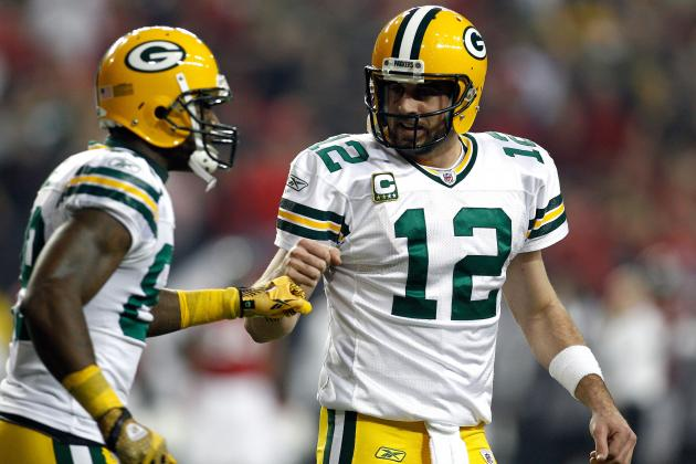 Aaron Rodgers Confident in Packers' Receiving Corps