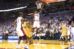 LeBron's Heroics Lift Heat to Game 1 Win