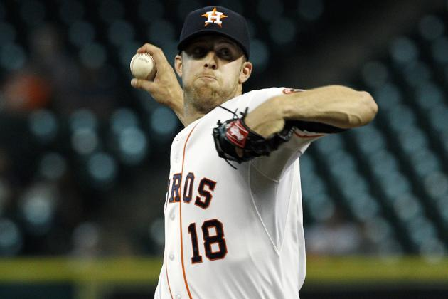 Astros' Lyles Showing Some Traces of an Ace