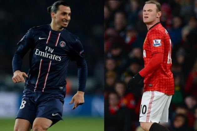 Zlatan Ibrahimovic and Wayne Rooney: Could They Play Together?