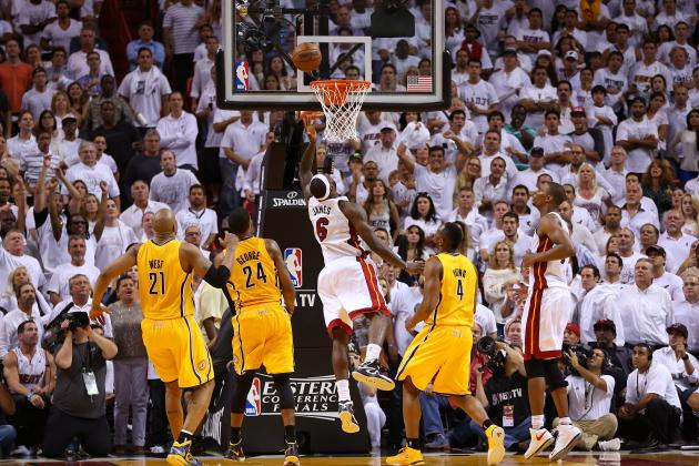 2013 NBA Playoffs: Miami Heat Give Indiana Pacers a Lesson in Championship Play