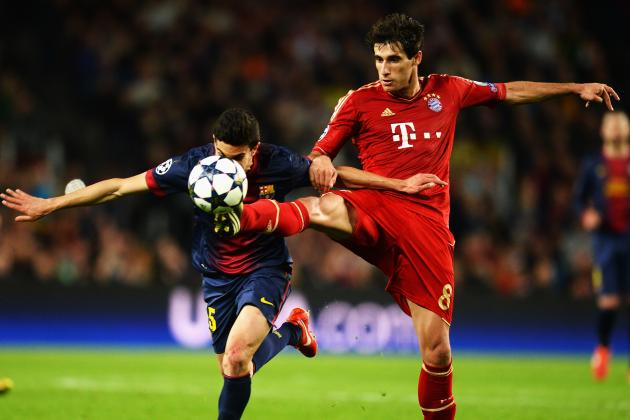 Tactical Twins: Bayern's Javi Martinez and Southampton's Morgan Schneiderlin