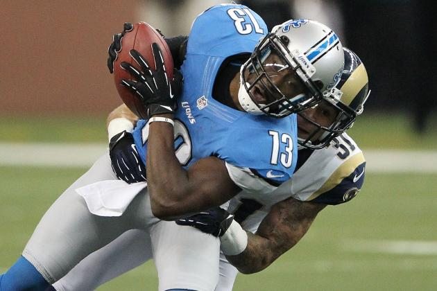 'Healed Up' WR Nate Burleson a Surprise Participant in Lions OTAs
