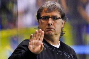 Malaga Talking to Martino