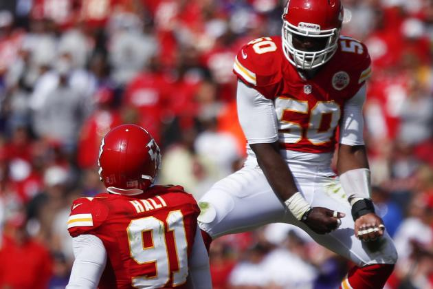 Tamba Hali Expects He and Justin Houston Will Pile Up Sacks This Season