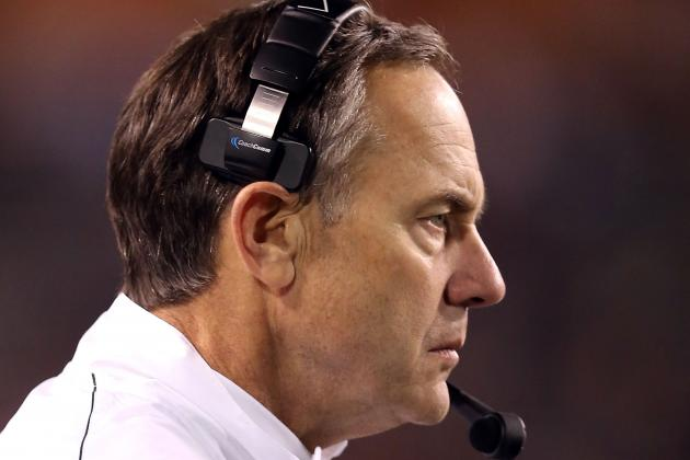 Dantonio 'Coke Pepsi' Answer Hints at Possible Michigan State 2-QB System