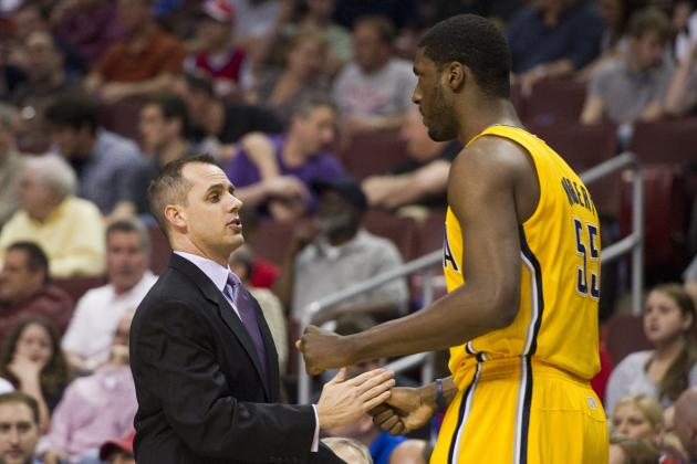 Pacers' Coach Vogel Explains Decision to Bench Hibbert Late