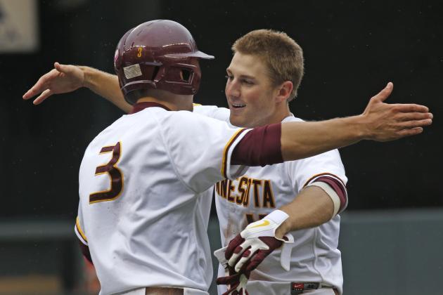 Big Ten Baseball Tournament Day 1 Recap: Minnesota and Nebraska Get Wins