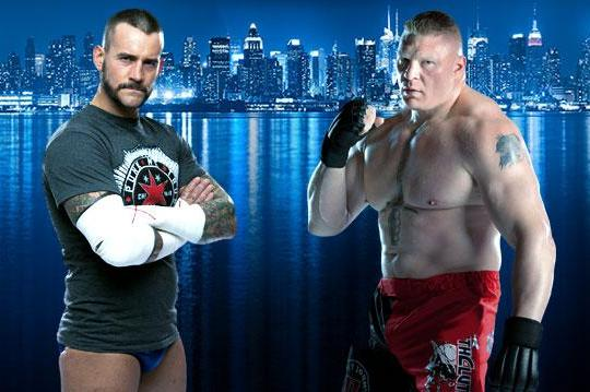 WWE: CM Punk Rumored to Feud with Brock Lesnar Upon Return