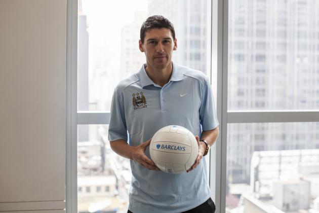 Exclusive: Man City Star Gareth Barry Talks World Cup 2014, Beckham and NYC FC
