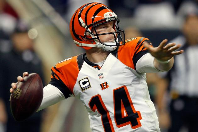 Andy Dalton Wants to Improve Bengals' Long-Ball Game