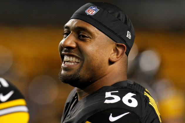 LaMarr Woodley Unfazed by Anonymous Criticism in Locker Room