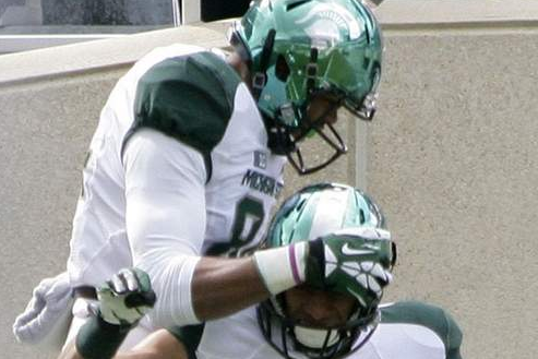 TE Juwan Caesar Transferring from Michigan State