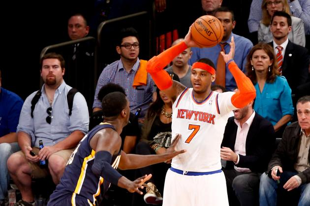 Will Carmelo Anthony Need Shoulder Surgery, and What Would Rehab Be?