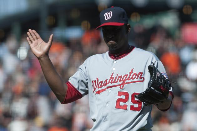 Rafael Soriano Explains Comments to Bryce Harper as Hitting the Wall Lingers