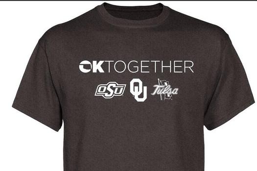 Oklahoma, Oklahoma State, Tulsa Selling Disaster Relief Shirt