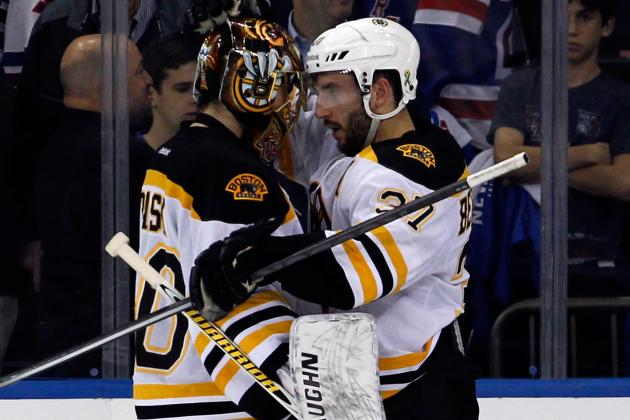 Relaxed Bruins Look to Finish Rangers in 4