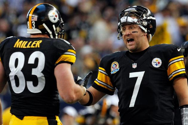 "Ben Roethlisberger Has ""no Doubt"" Heath Miller Will Play Week One"