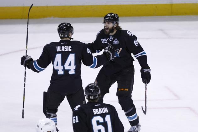 San Jose Sharks' Defense Is Frustrating Los Angeles Kings' Top Line