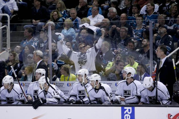 Kings Make Changes as Sharks Invade L.A.