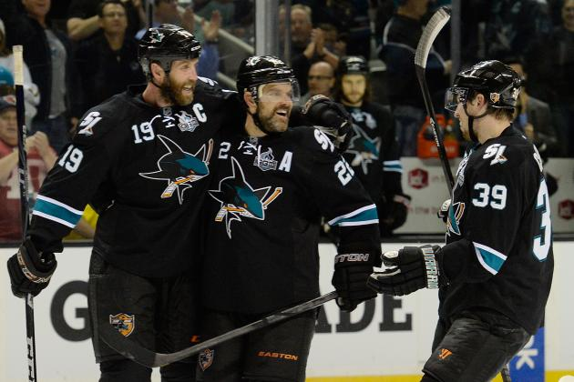 Thornton Leading Sharks with Strong Play on Ice