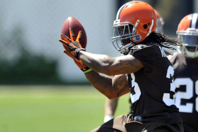 Trent Richardson Held out of OTAs; Could Miss June Mini-Camp